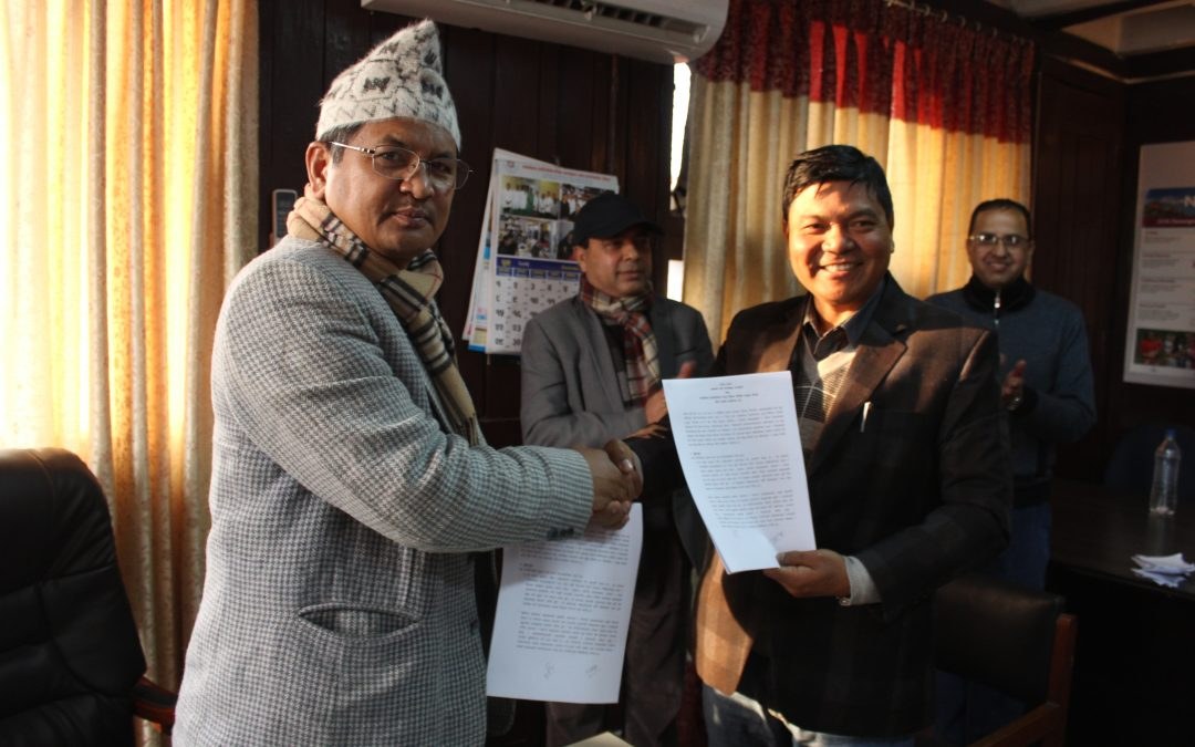 MoU Signed between MoHP and ADRA Nepal