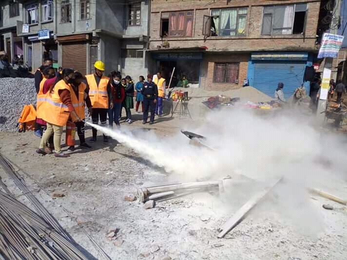 Fire Hydrant to Control Fire in Shankarapur Municipality