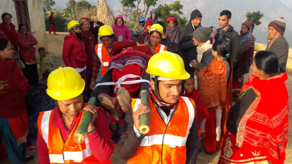 Earthquake Safety Day Marked
