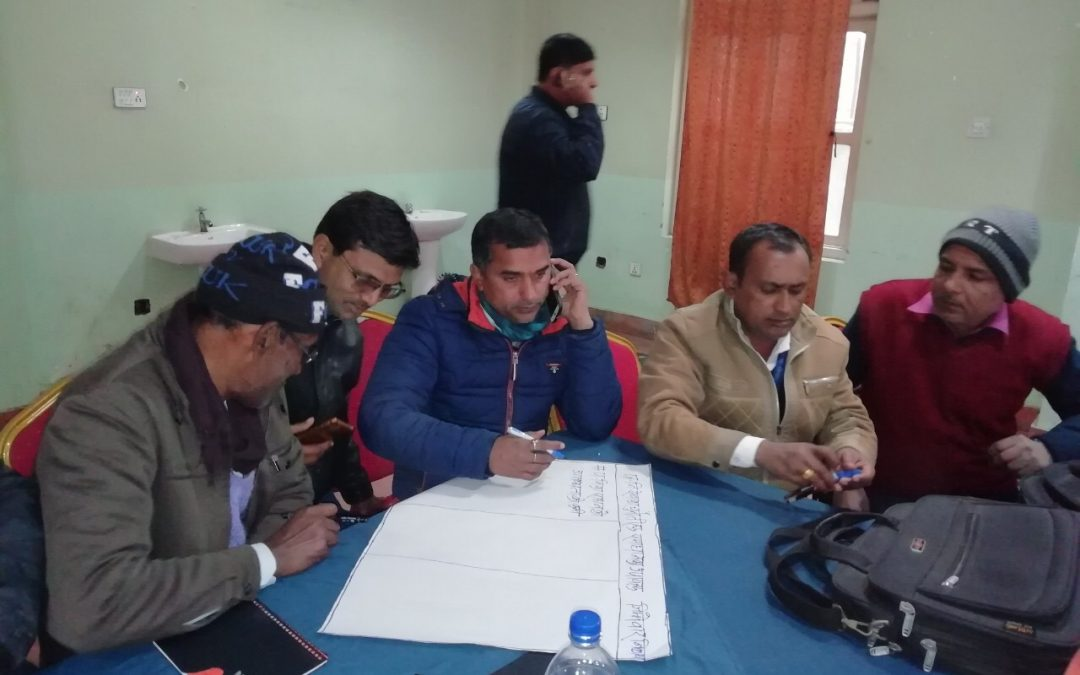 Health Planning Meeting in Rautahat