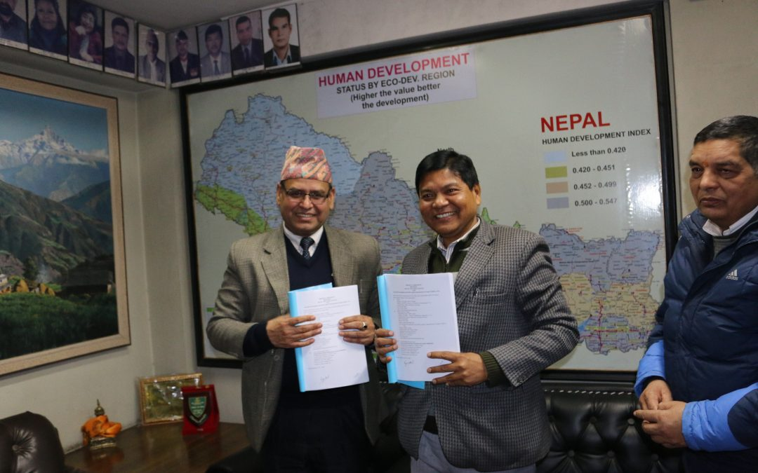 Project Agreement Signed between SWC and ADRA Nepal