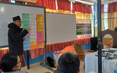 Training of Trainer on Agro-based Business Education